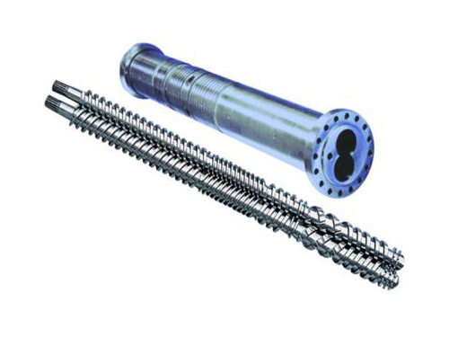 Screw barrel for Parallel Twin-cylinder